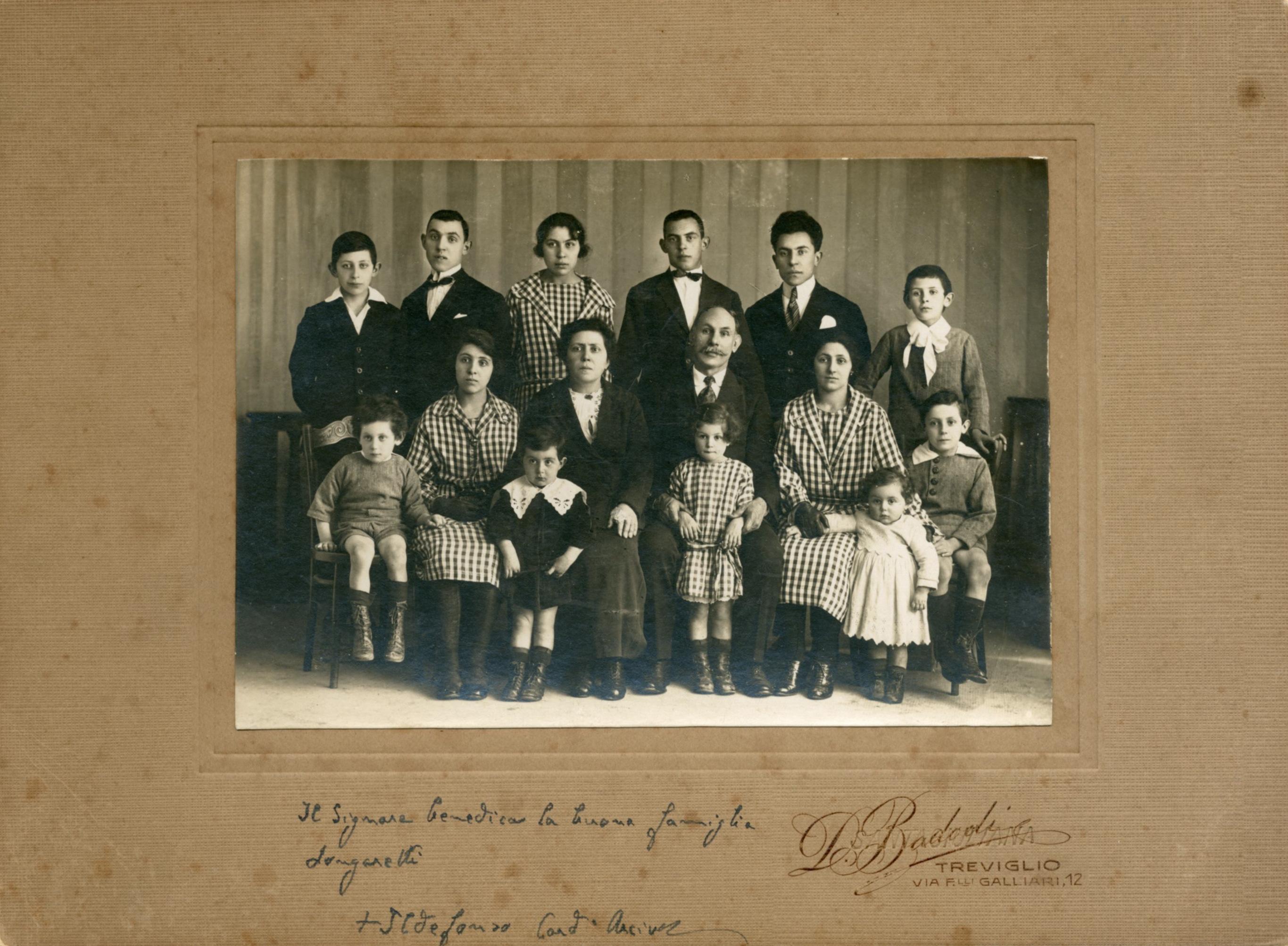 La famiglia Longaretti