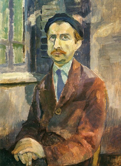 Afro Basaldella, Ritratto del pittore Franco Gentilini, 1940-45, olio su tela